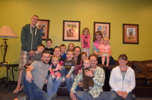 We had a great reunion at WorldVenture with the Braun's and Messick's!